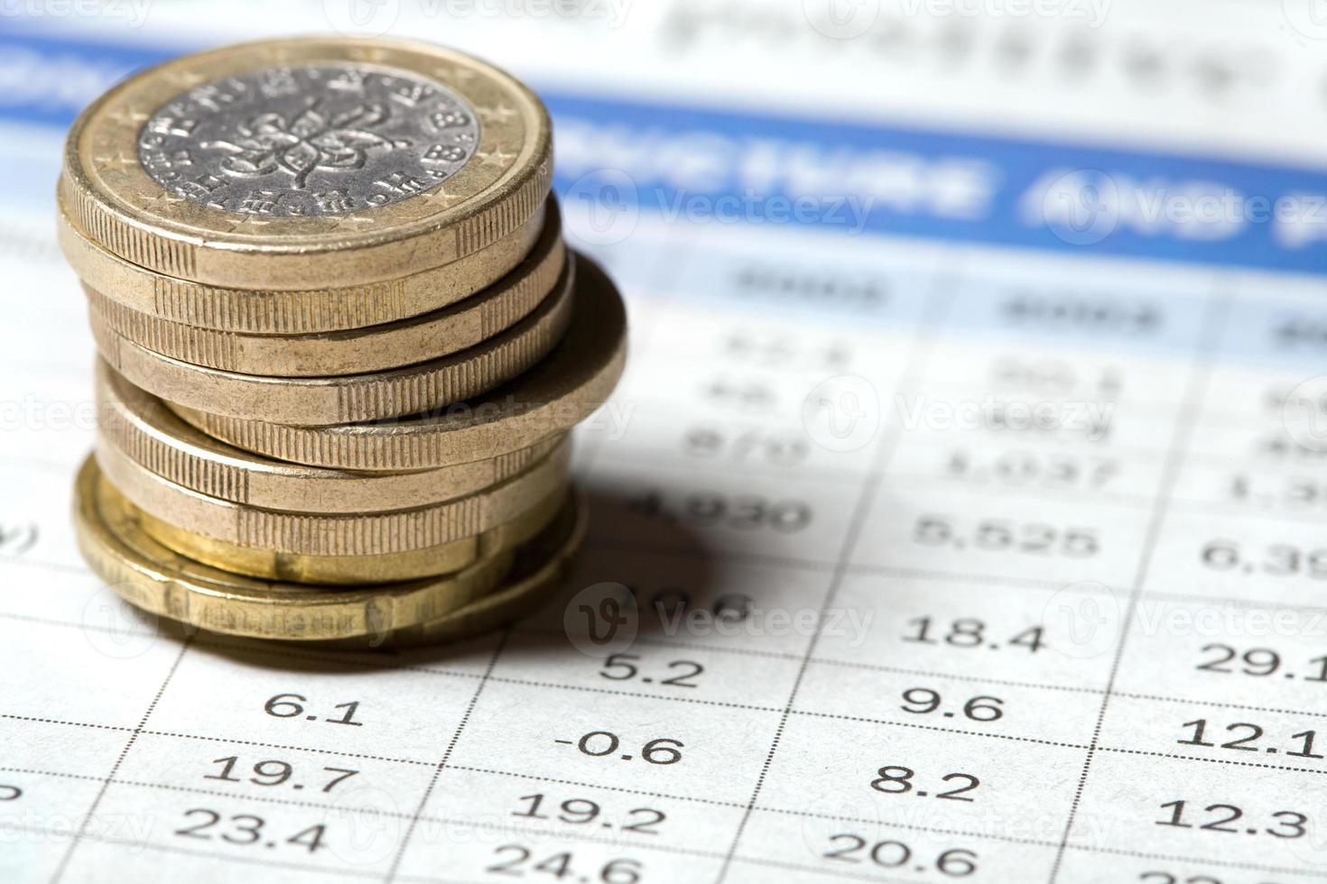 informe financiero foto