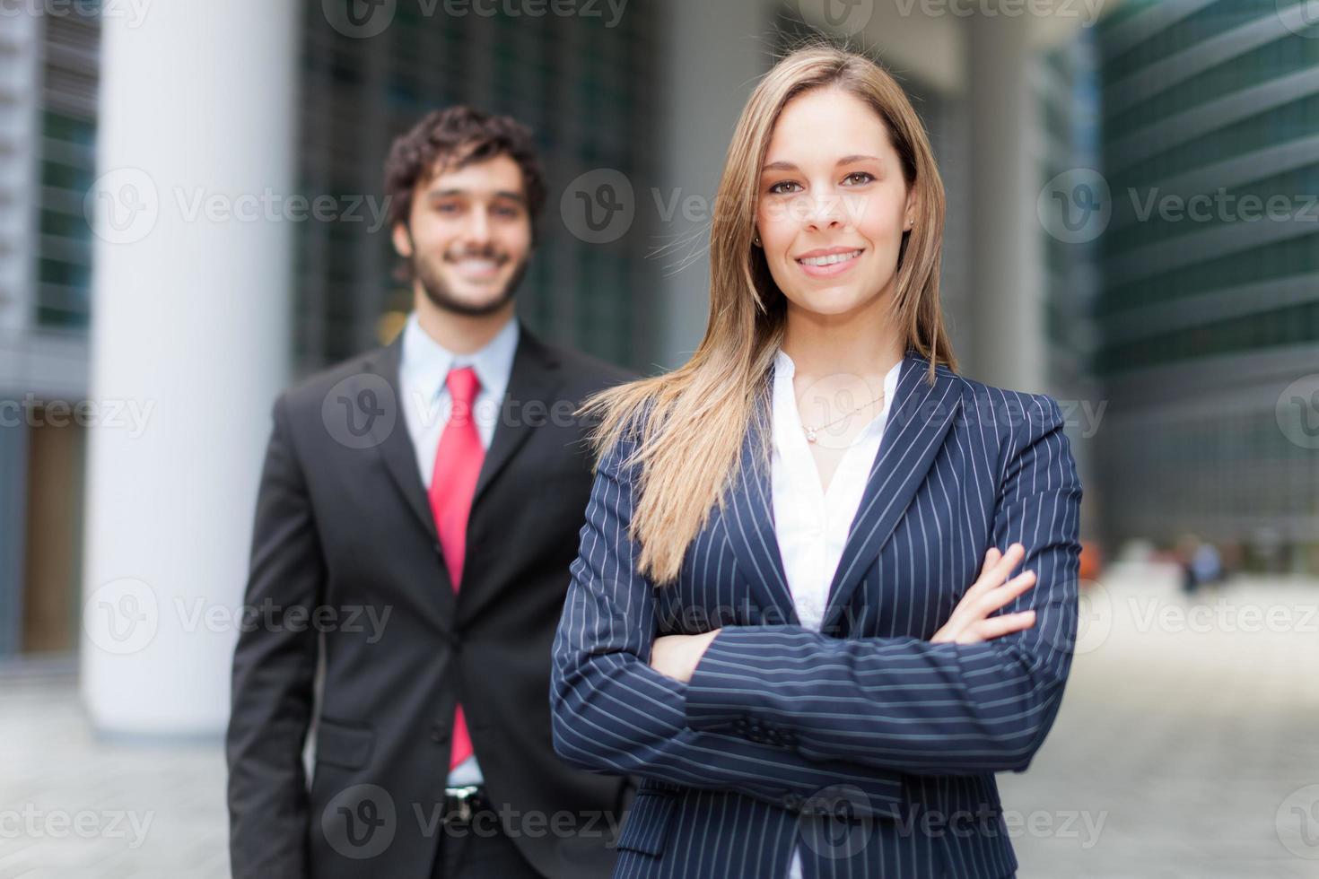 Compañeros de negocio foto