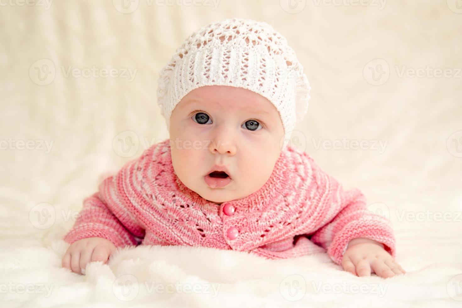 Little baby girl photo