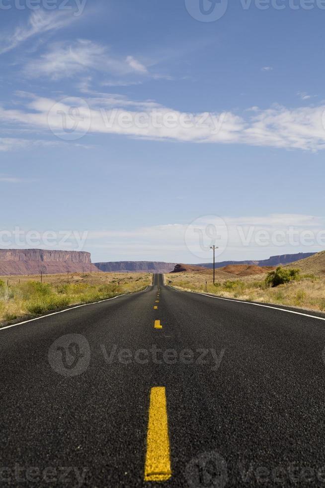 Scenic Highway in Utah photo