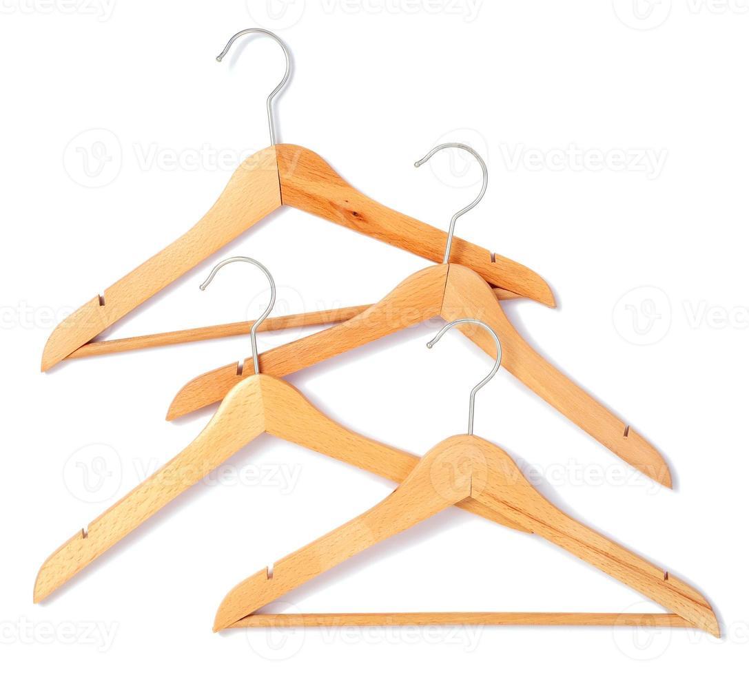 wooden hangers photo