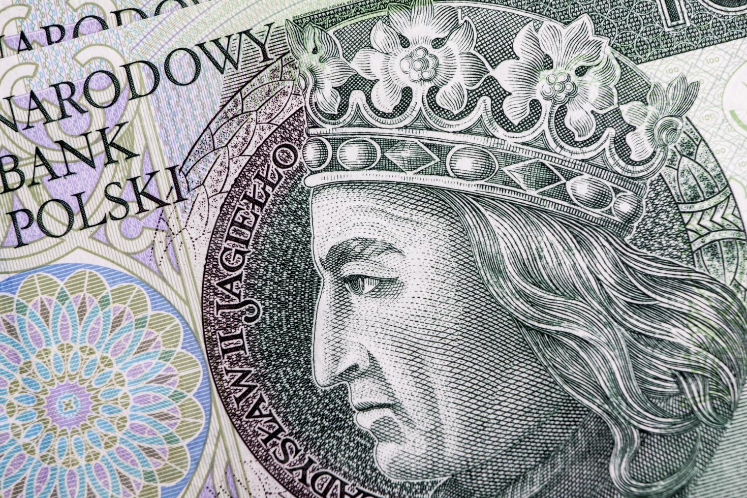Banknote 100 PLN - Polish Zloty photo