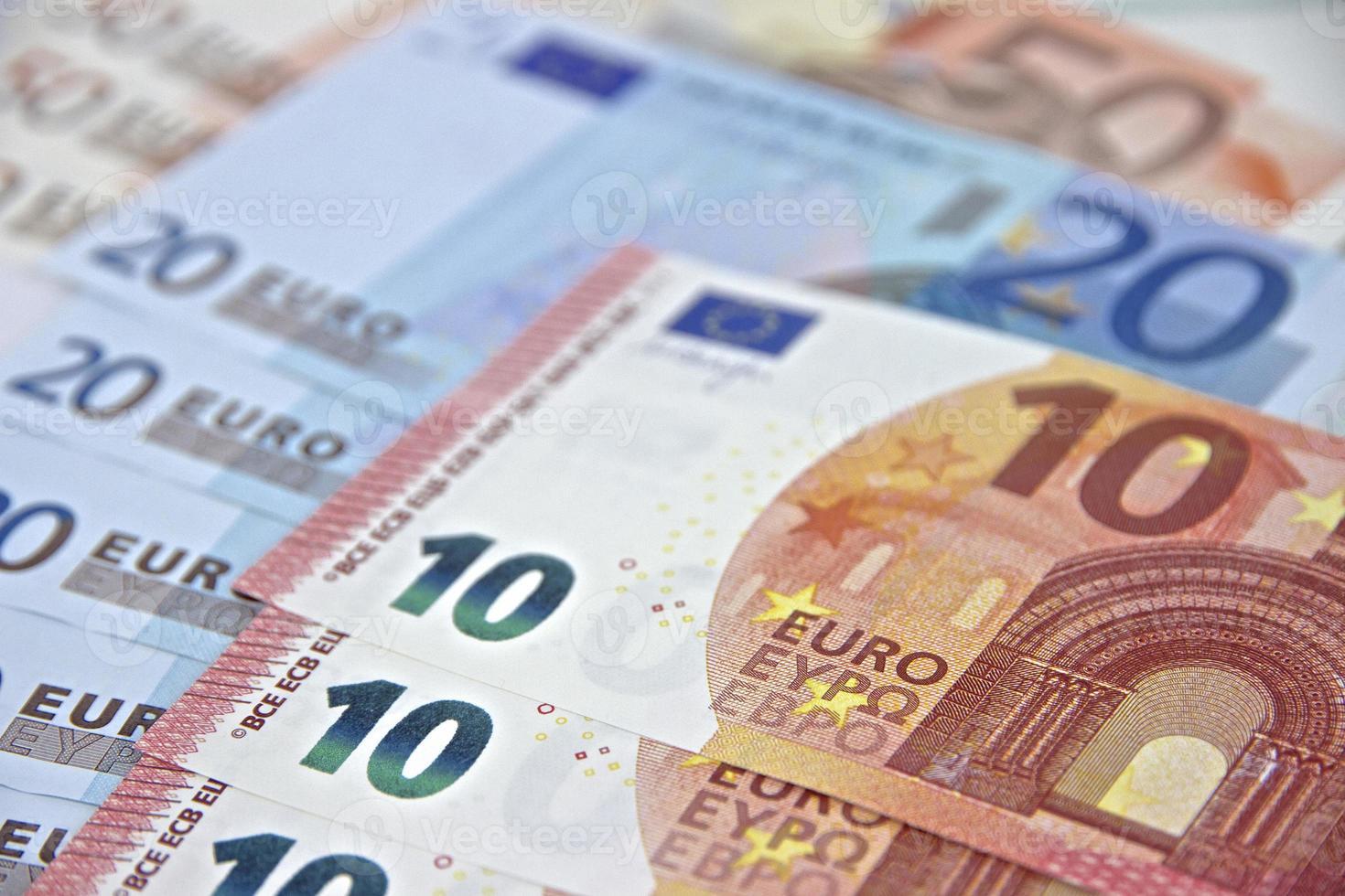 Money - Euro Banknotes - European Union Currency photo