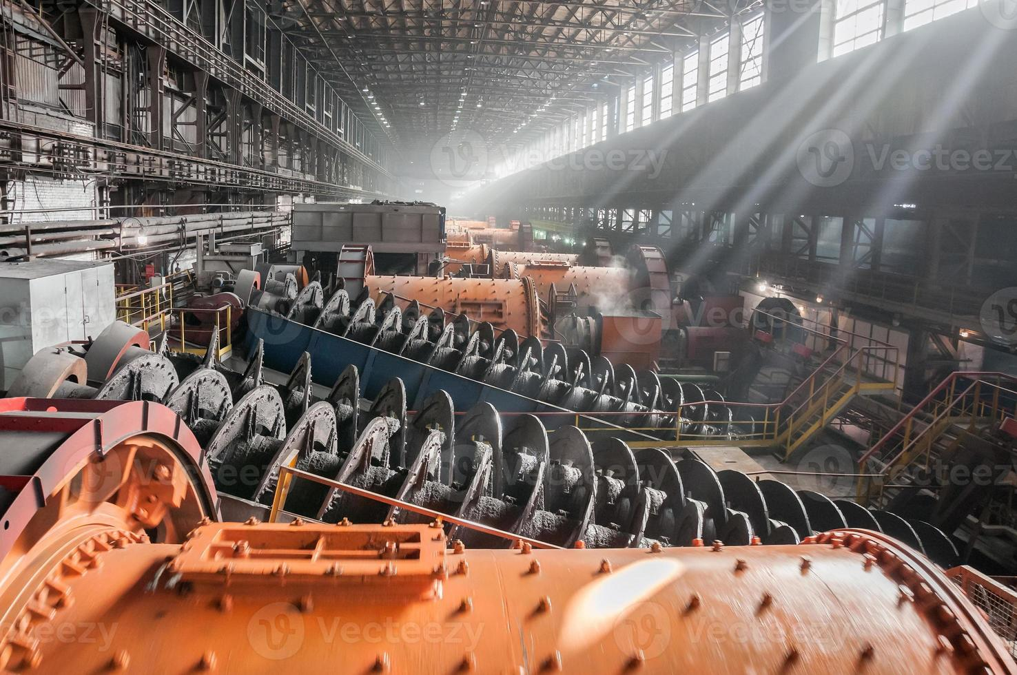 ore-dressing and processing enterprise photo