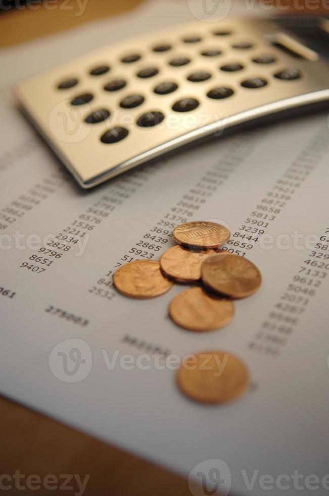 financial calculation series photo