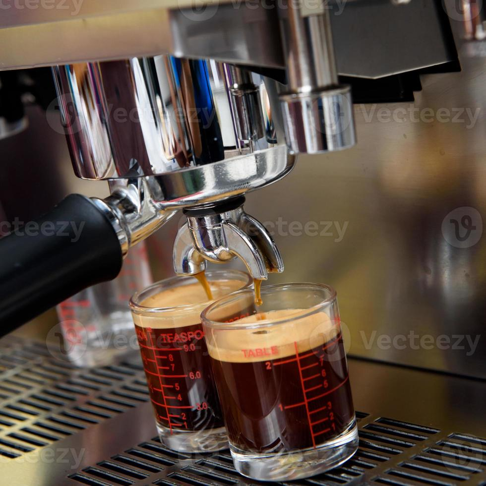 Process of preparation of coffee photo