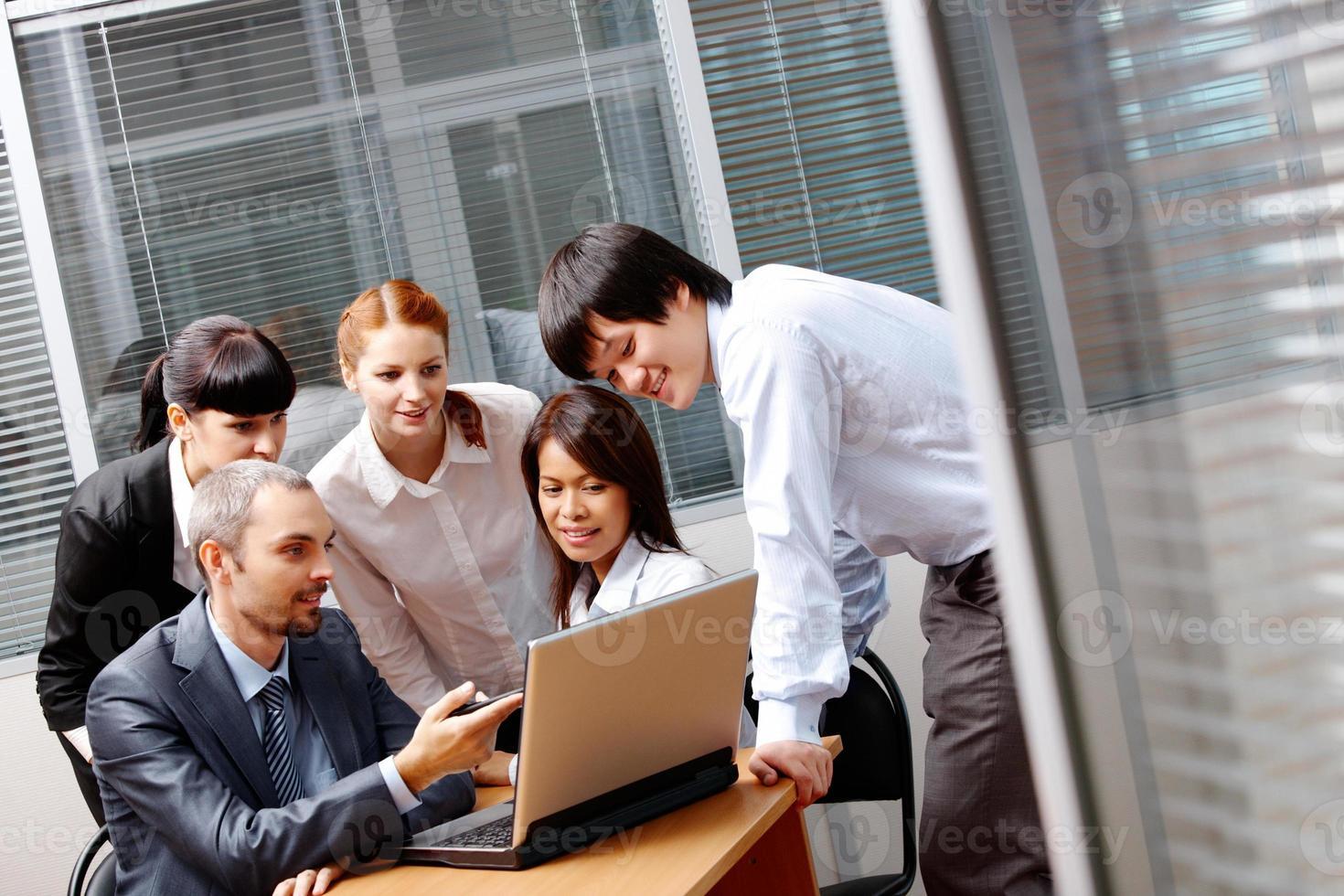 Computer work photo