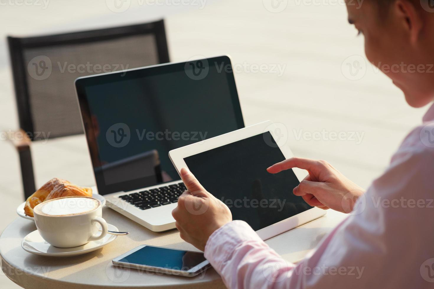Technology in business photo
