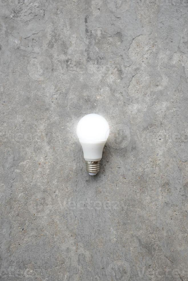 LED Bulb with lighting - Save lighting technology - Zoom out photo