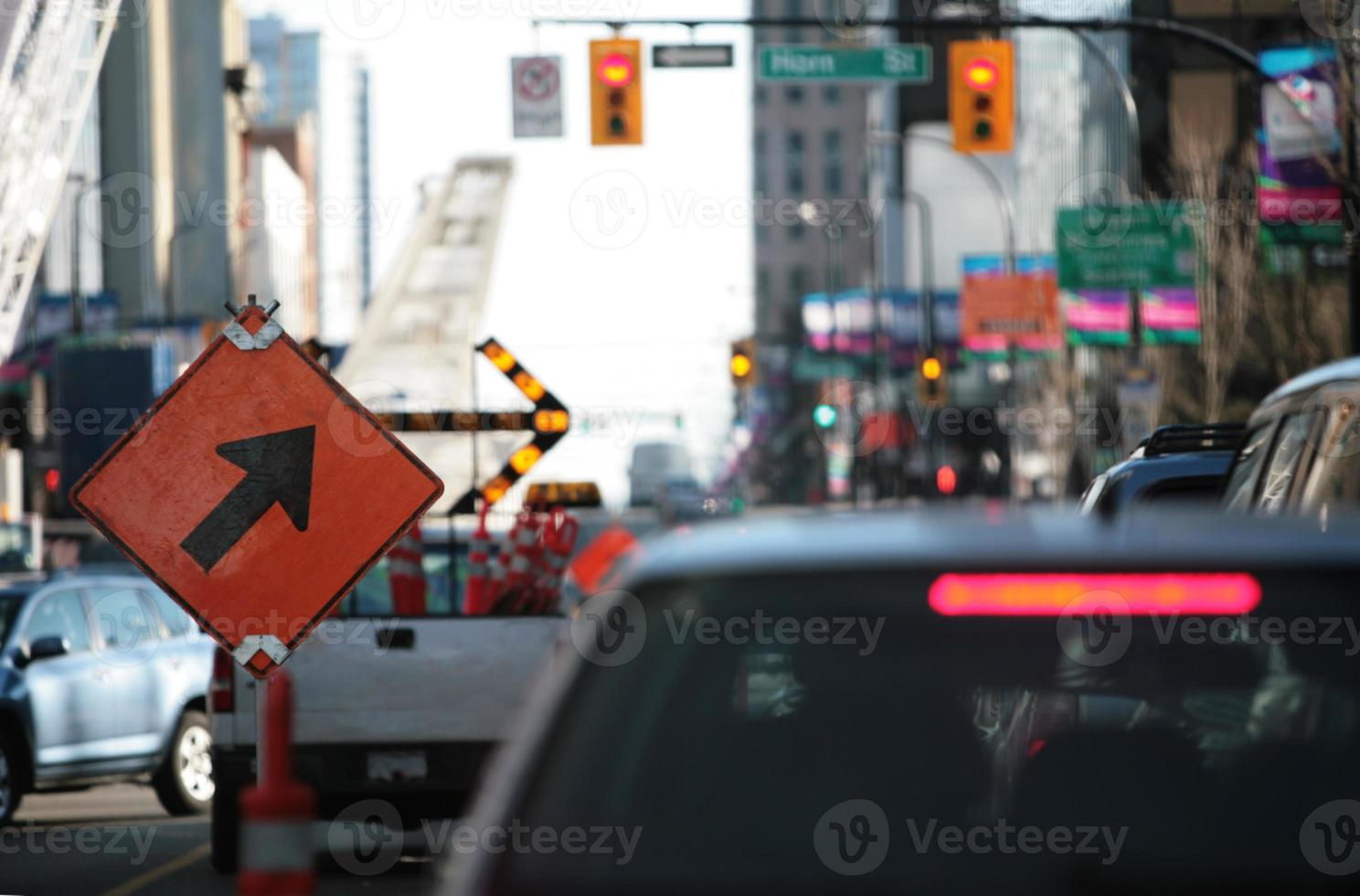 Road works and Rush Hour - A bad Combination photo