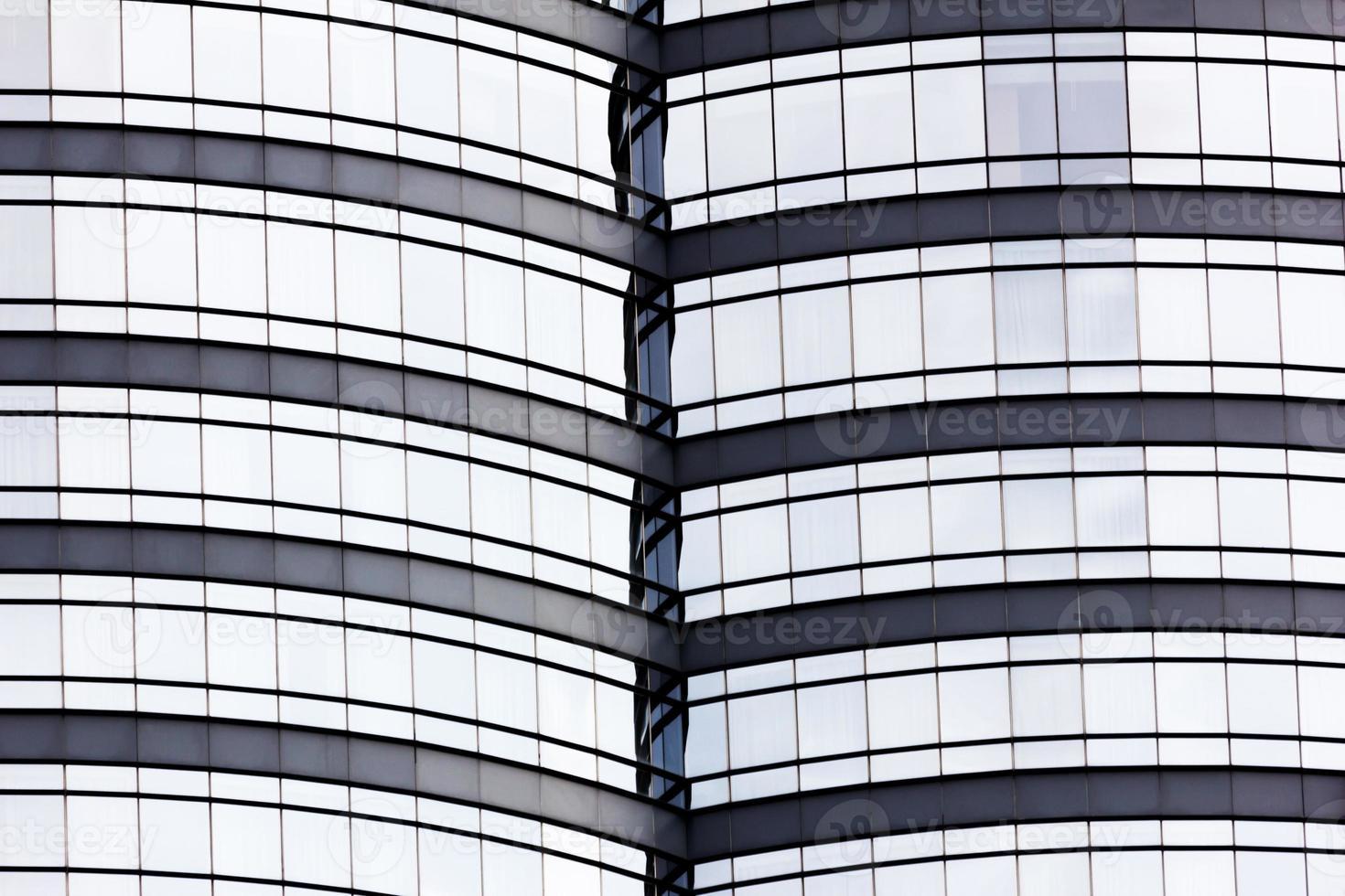 Fondo texturizado del moderno edificio de cristal foto