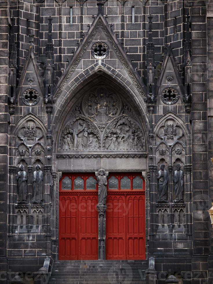 catedral de clermont-ferrand foto