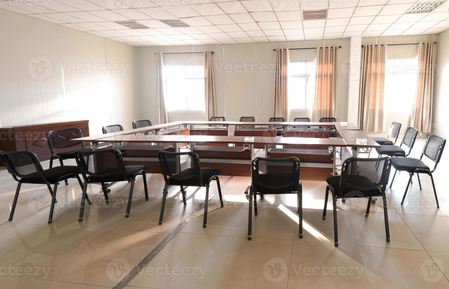 sala de reuniones de negocios foto