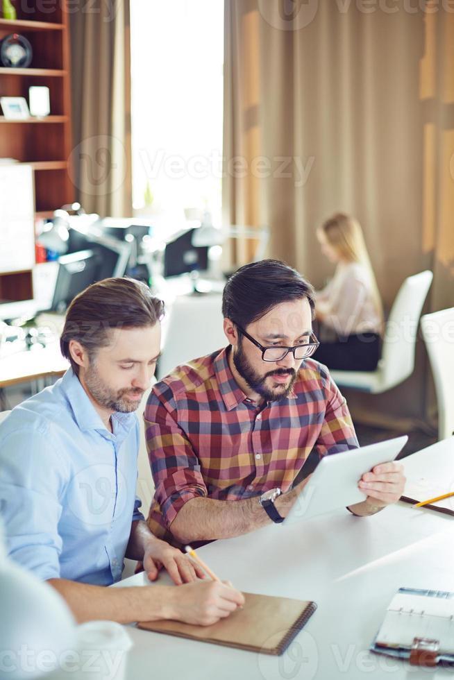 Planning work photo