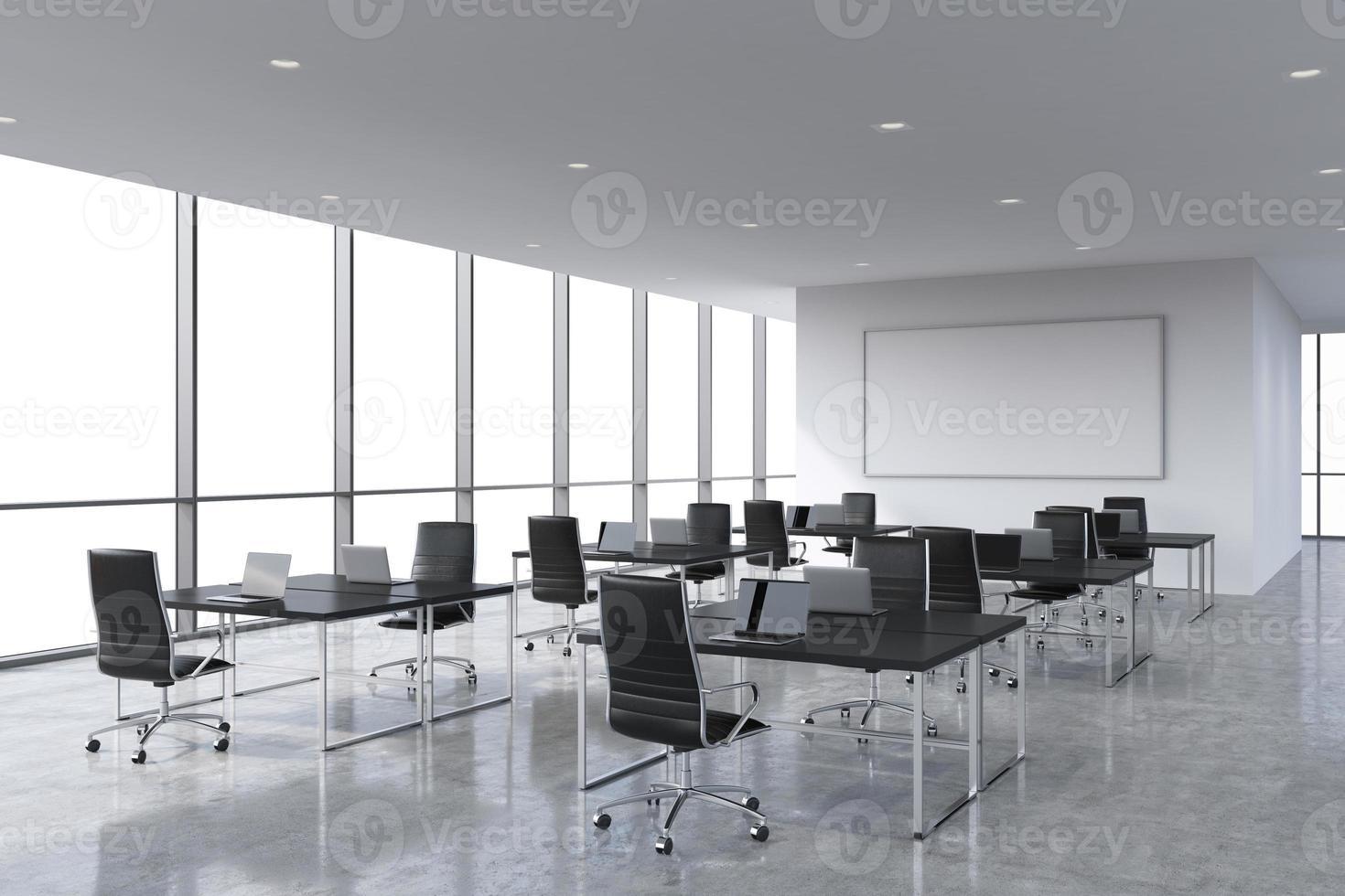 modern panoramic office photo