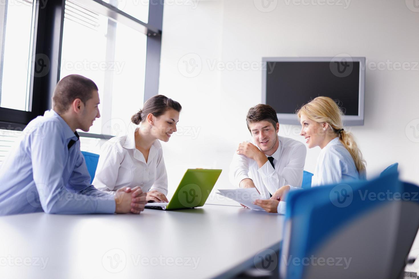 business people group  in a meeting at office photo