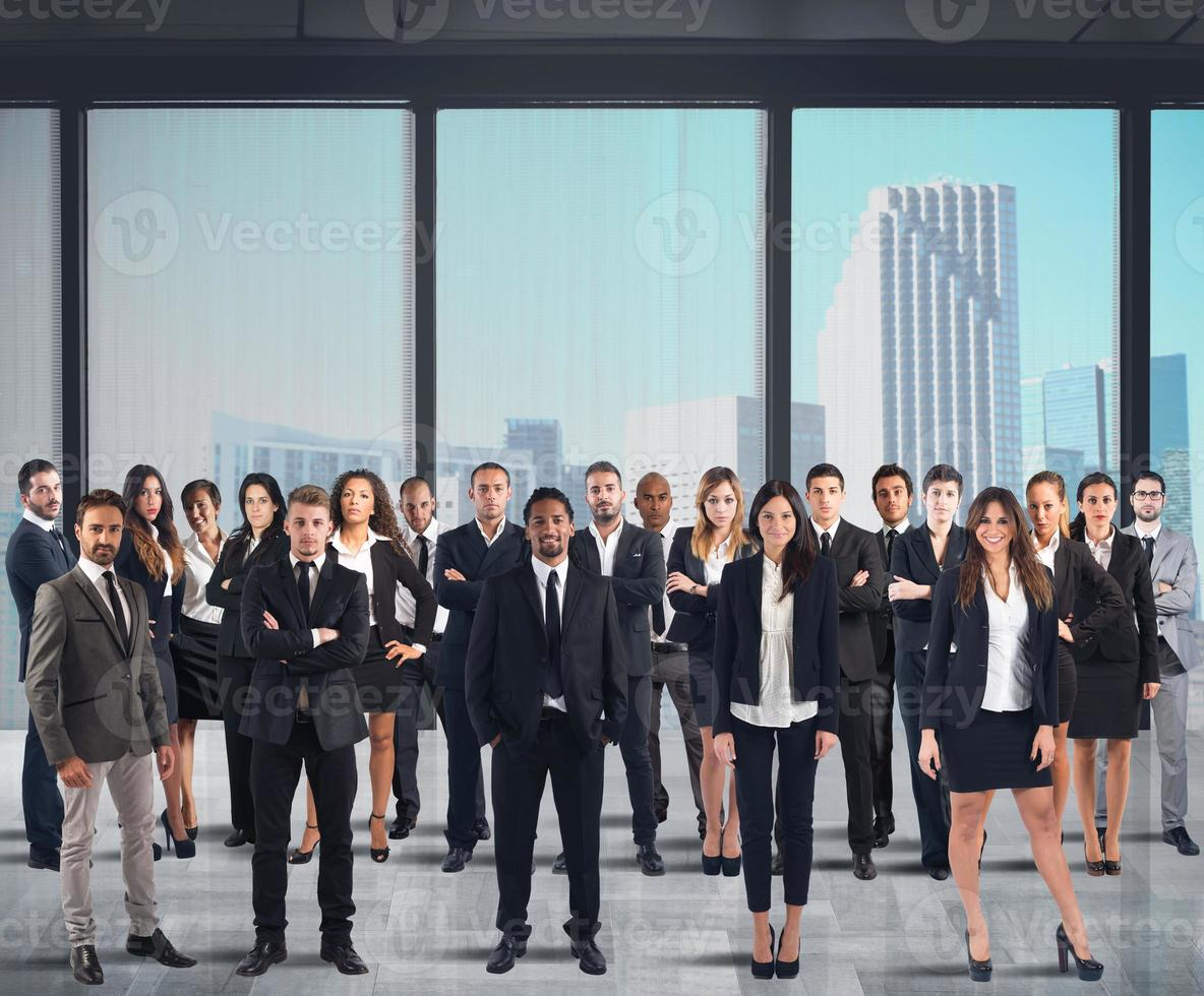 Business people work photo