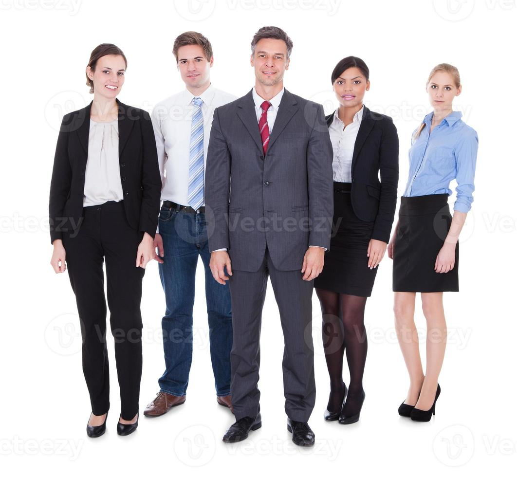 Group Of Businesspeople photo