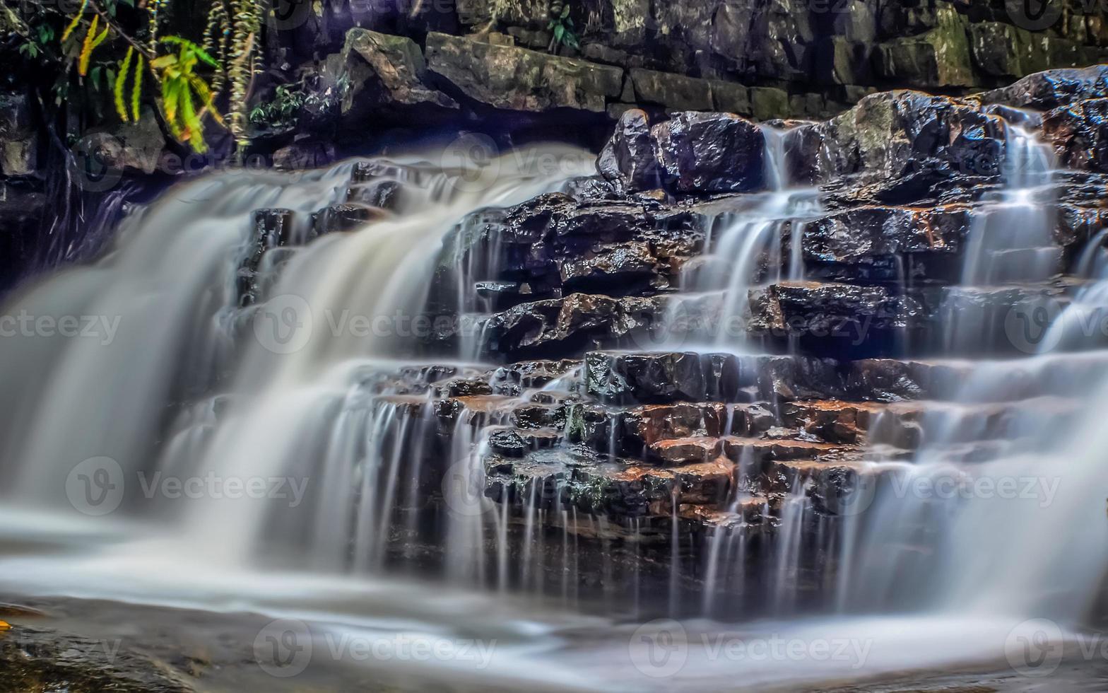 Waterfalls of Kuala Sentul, Maran, Malaysia photo