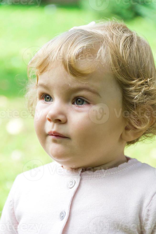 Cute infant photo