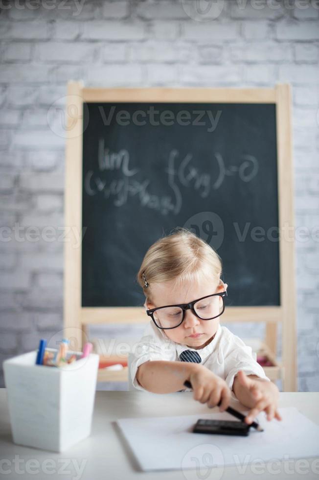 Genius baby photo