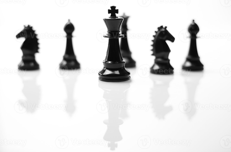ajedrez, trabajo en equipo foto