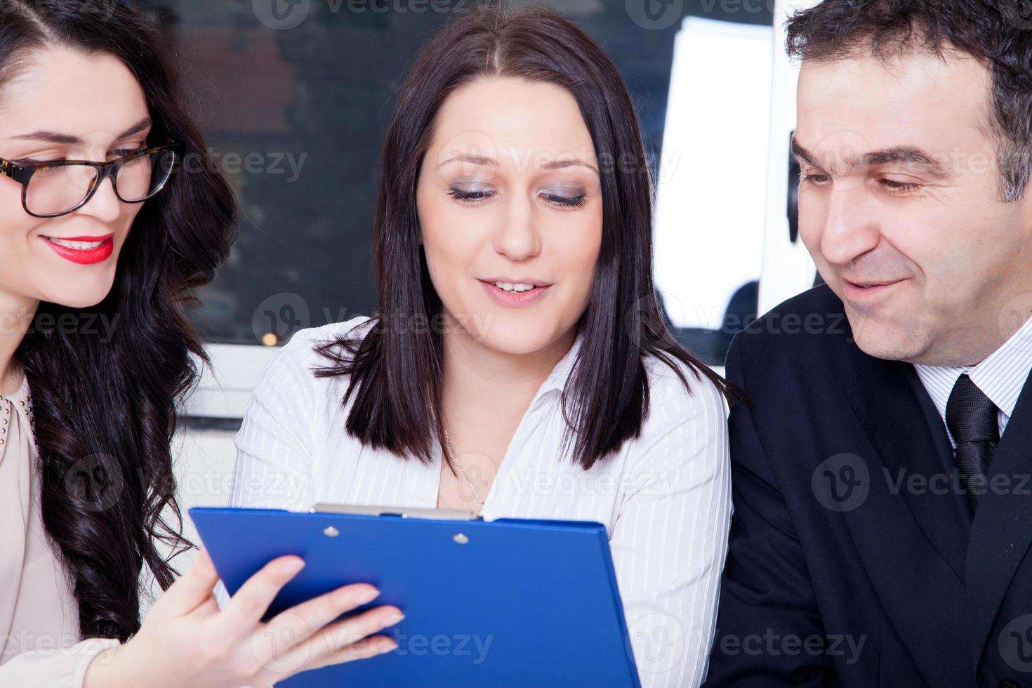 business teamwork photo