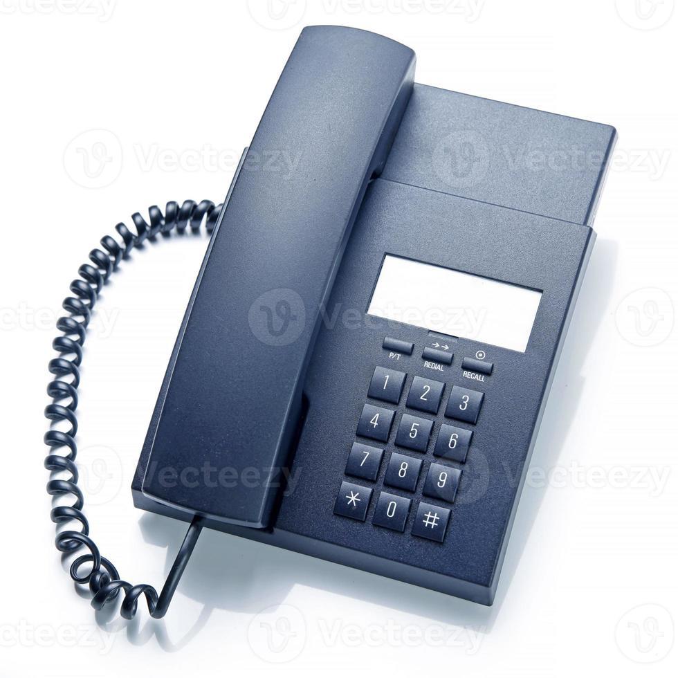 teléfono de oficina foto
