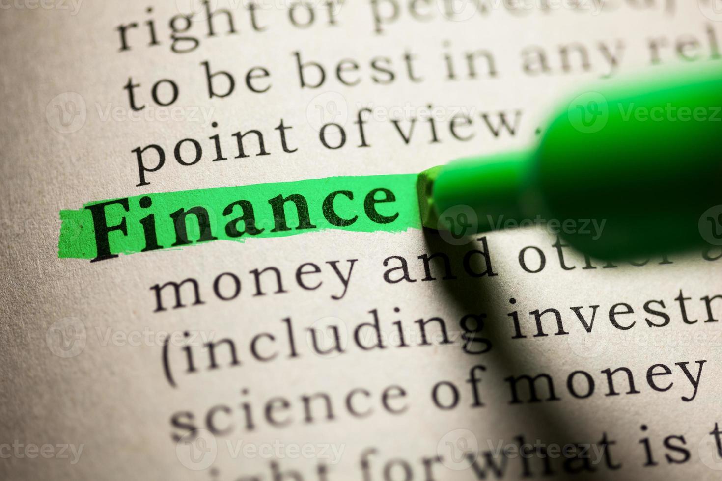 Finanzas foto