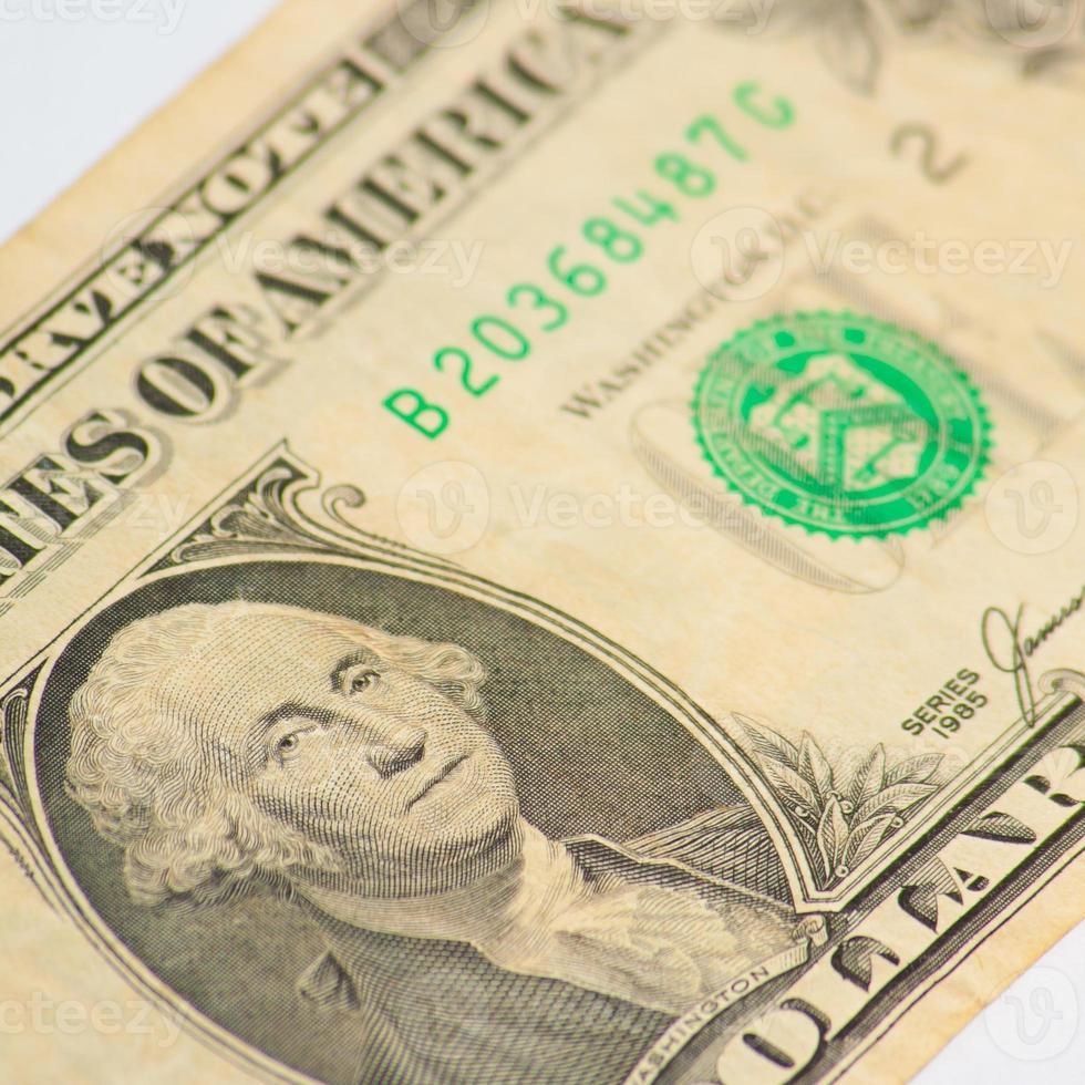 George Washington - One Dollar photo