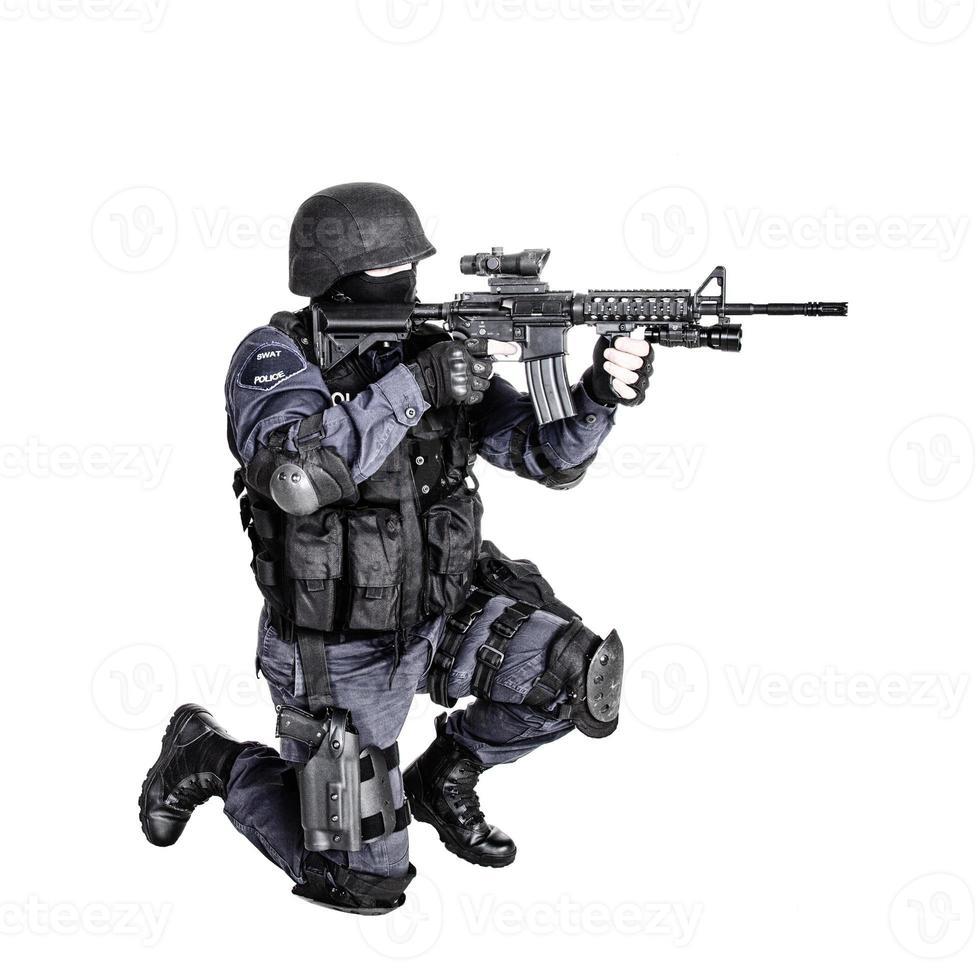 oficial de swat foto