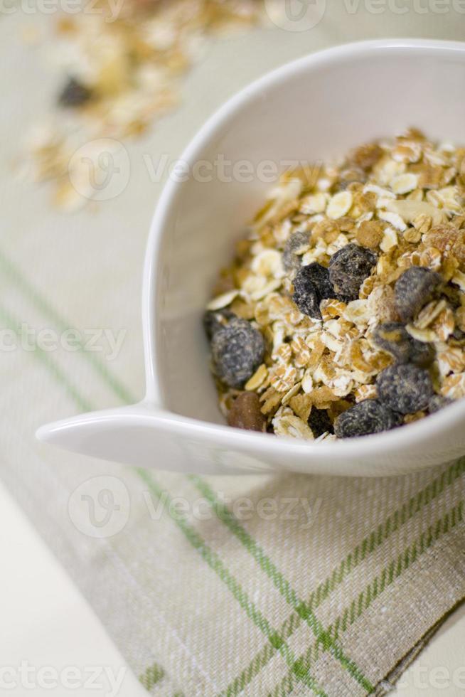 bowl full of musli photo