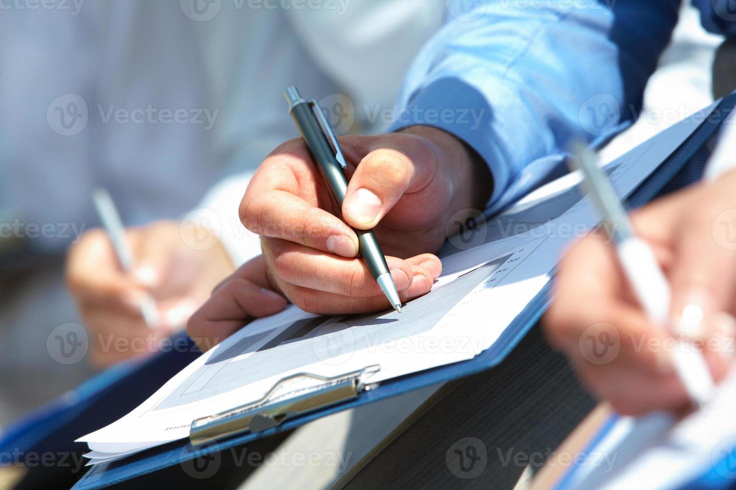 Written work photo