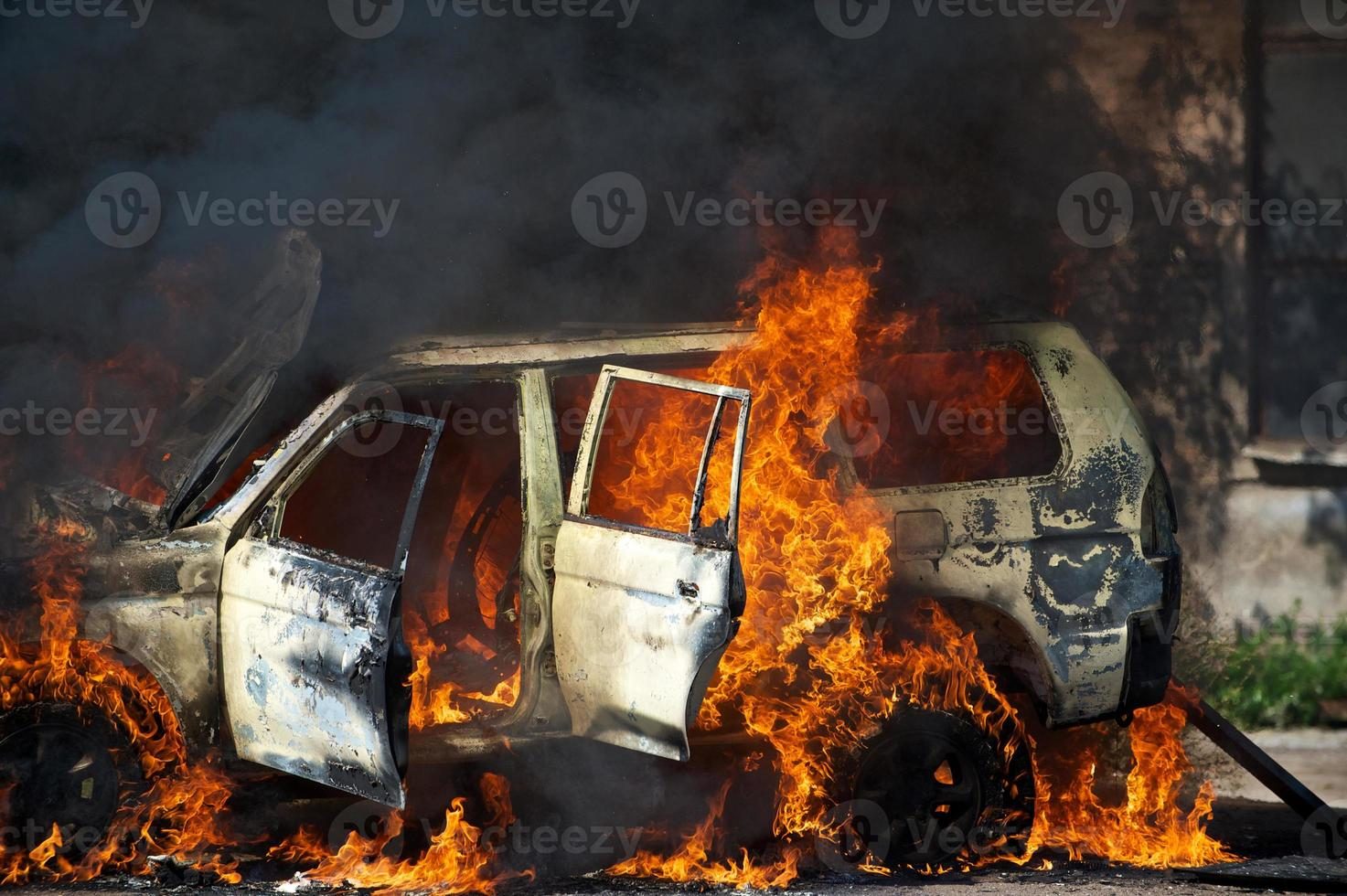 coche de bomberos foto