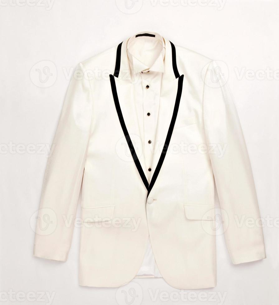 white Man's suit photo