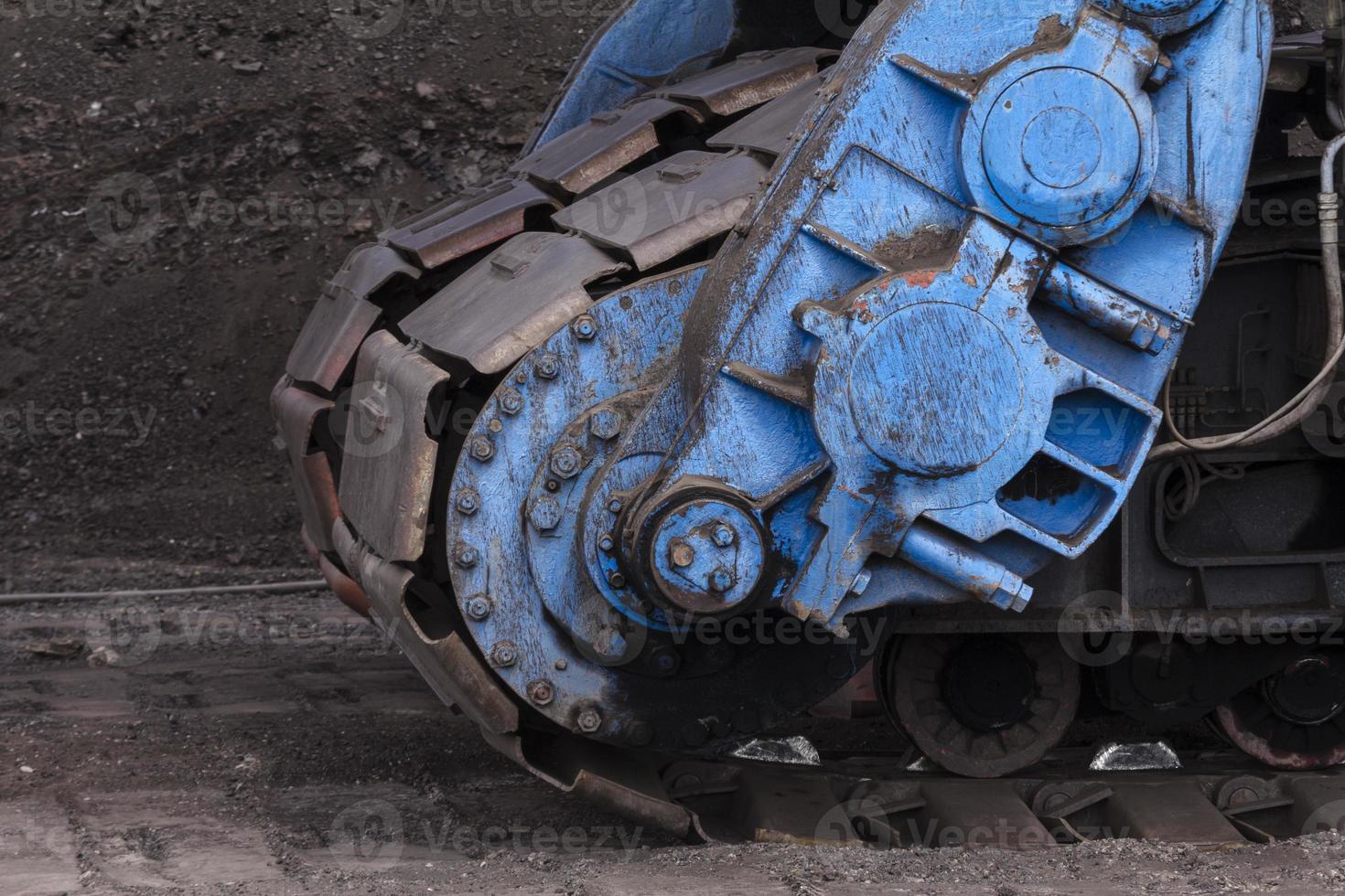 mina de carbón foto