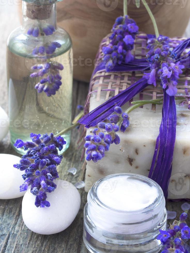 spa lavender arrangement photo