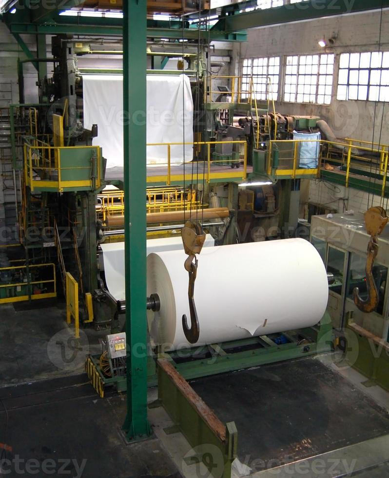 Paper and pulp mill photo