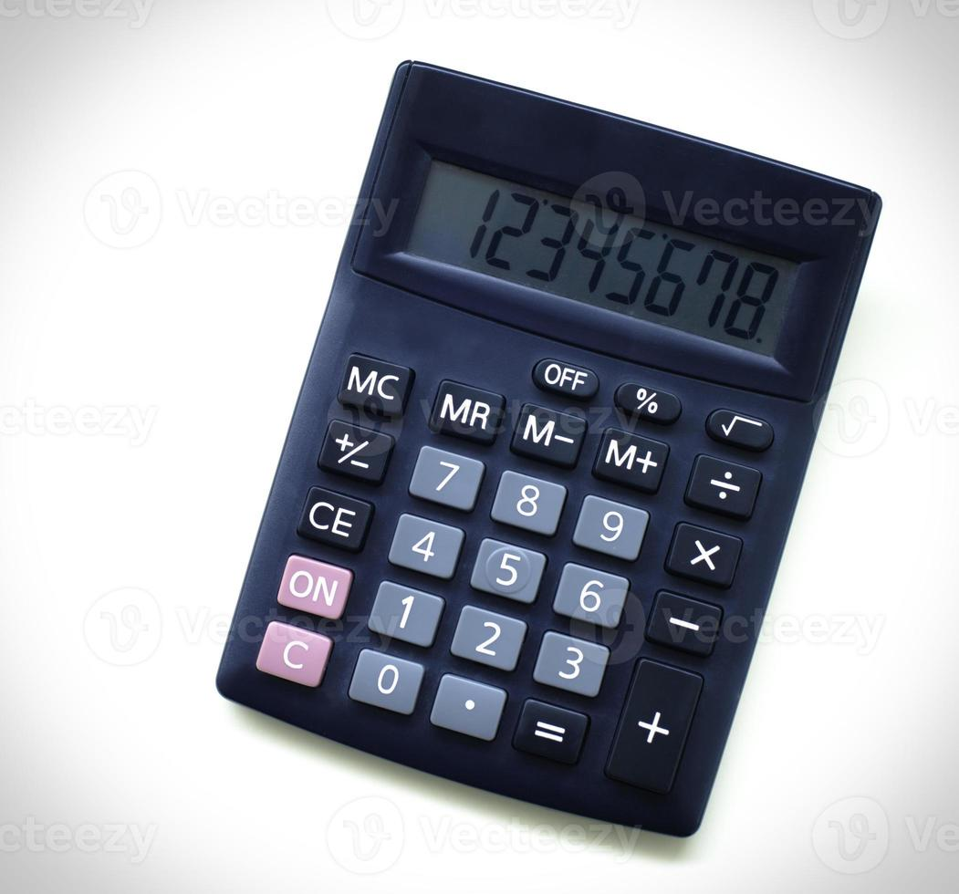 Calculator in business concept photo