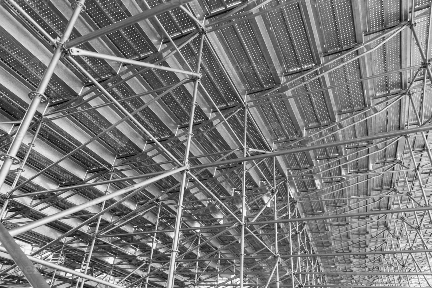 construcción de aluminio foto