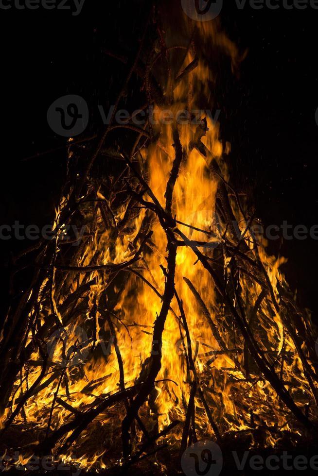 campfire photo