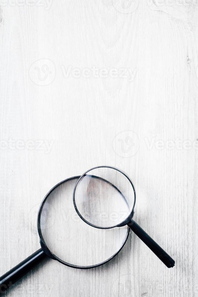 lupa, símbolo de búsqueda foto