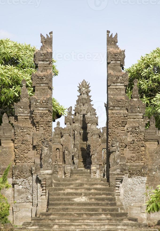 Templo de Bali 3 foto