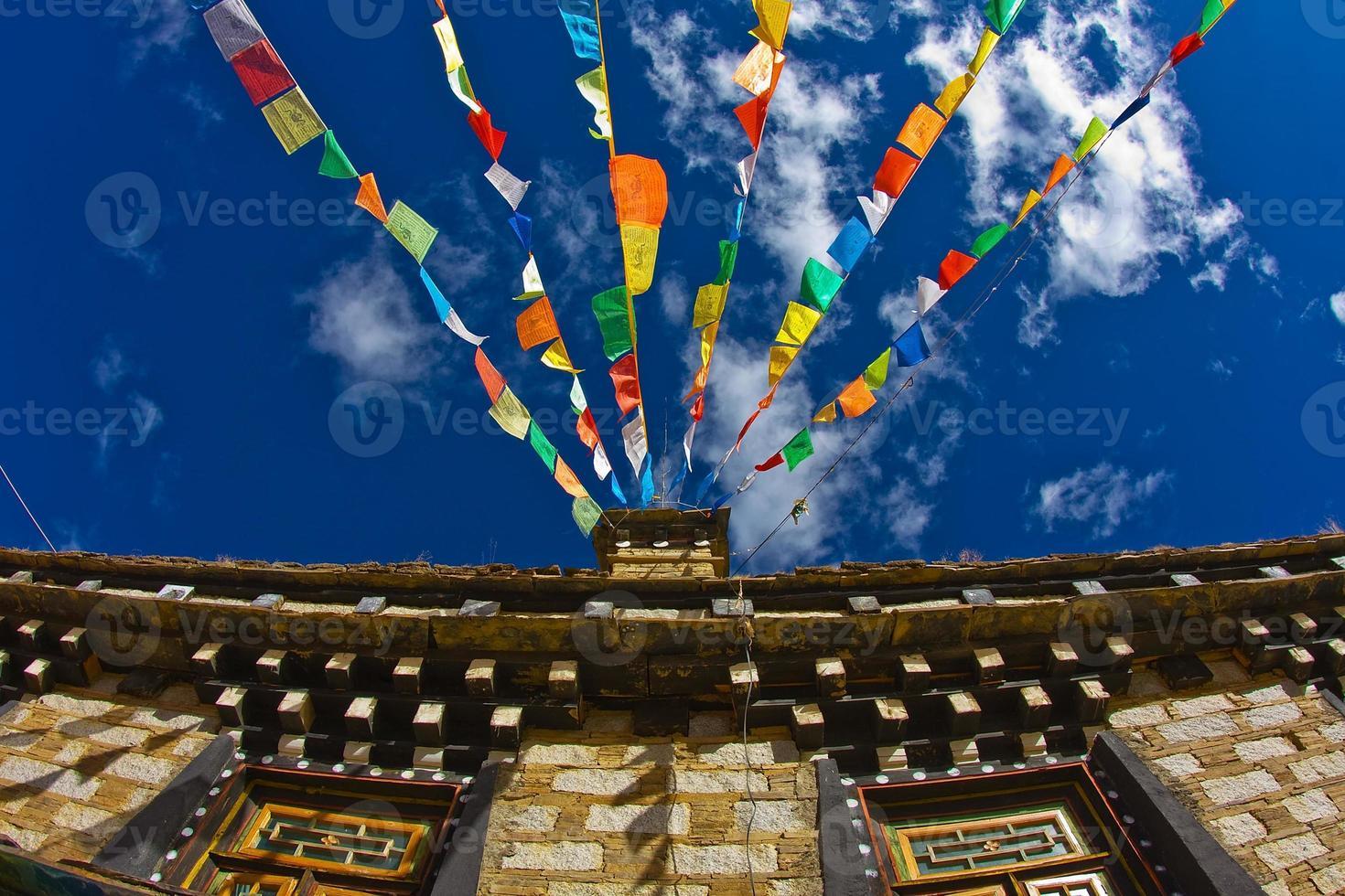 Prayer flags- Tiber photo