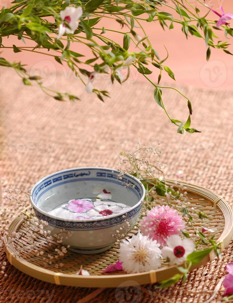 Spa floral composition photo