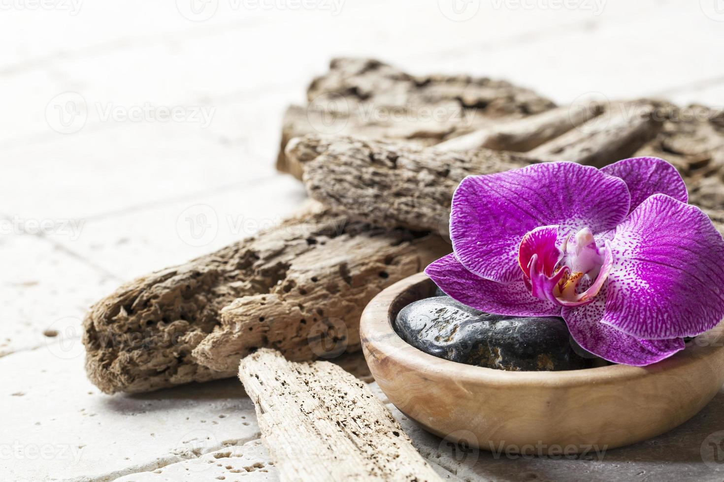 elementos naturales para spa de belleza y masajes. foto