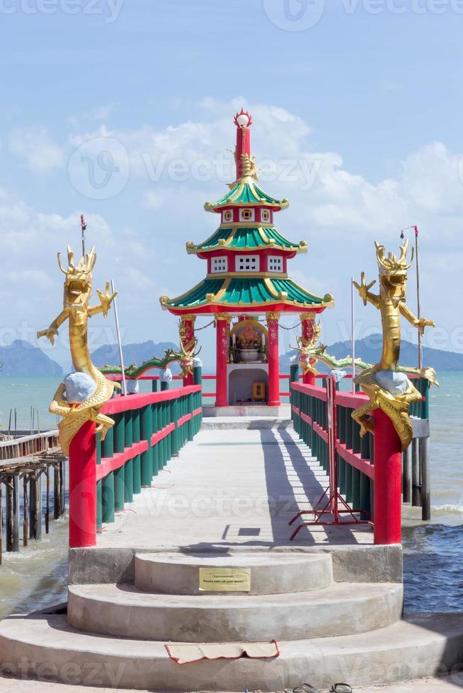 Chinese shrine photo