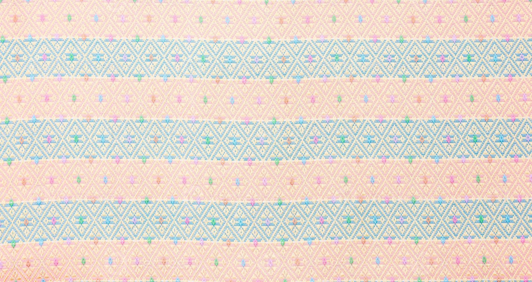Fondo de tela de seda tailandesa foto