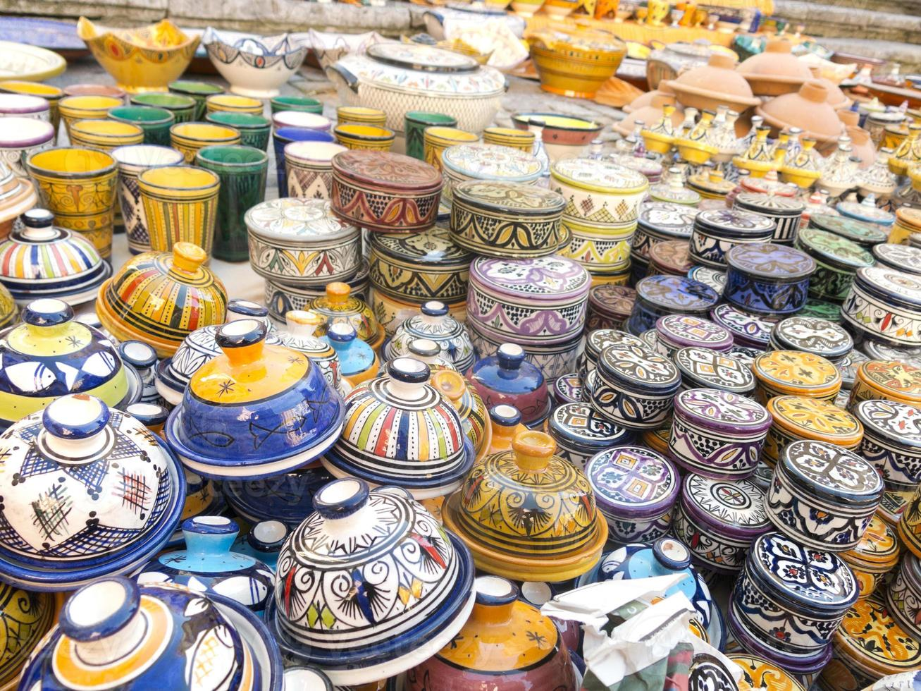 Maghreb ceramic photo