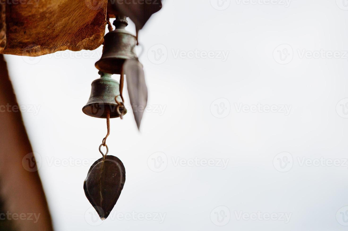 Buddhist bells photo